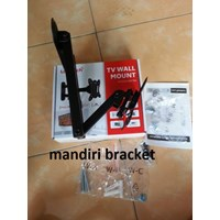 Bracket tv monitor swivel merk Looktech-tipe L100M murah