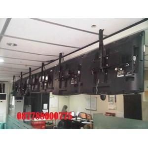 Braket tv Ceiling custom murah pipa 2meter dan 3meter