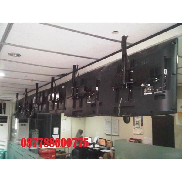 Bracket tv Ceiling custom murah pipa 2meter dan 3meter