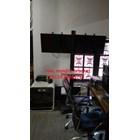 Braket TV Standing plat kupu-kupu  (2 LCD LED TV) 2