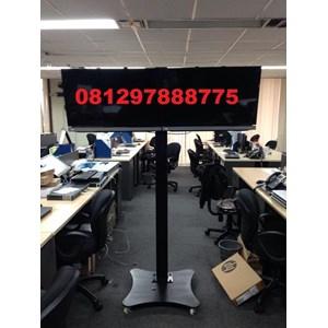 Braket TV Standing plat kupu-kupu  (2 LCD LED TV)