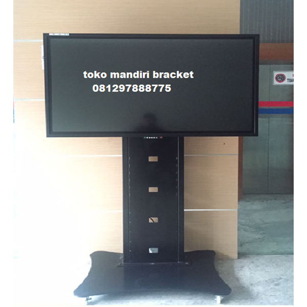 Bracket TV Braket led Standing custom type pagar (model plat kupu kupu )