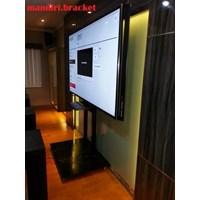 Bracket TV Standing Custom  KHUSUS  LCD BERAT