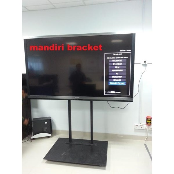 Bracket TV Standing Custom  KHUSUS  LCD BERAT
