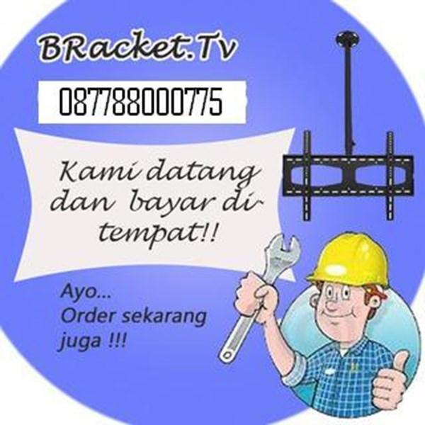 Bracket TV murah jasa pasang bracket tv jakarta barat O87788OOO775