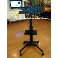 Braket Mobile TV Stand  Merek Kenzo KZ-52 for FLAT TV MURAH