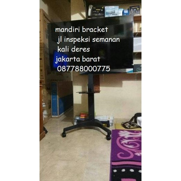 Bracket TV Mobile  Stand Kenzo KZ-52 for FLAT TV MURAH