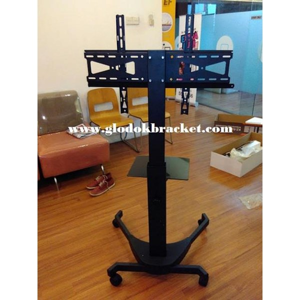 Braket TV Mobile  Stand  Merek Kenzo KZ-52 for FLAT TV MURAH