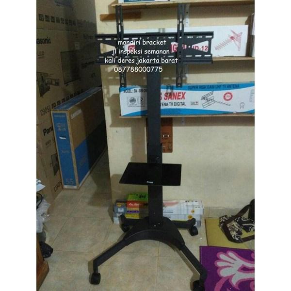 Bracket TV Mobile  Stand  Merk Kenzo KZ-52 for FLAT TV MURAH