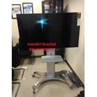 Bracket tv Standing North Bayou Type AVF 1500-50-1P silver murah 1