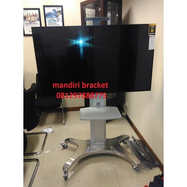 Braket tv Standing North Bayou Type AVF 1500-50-1P silver murah