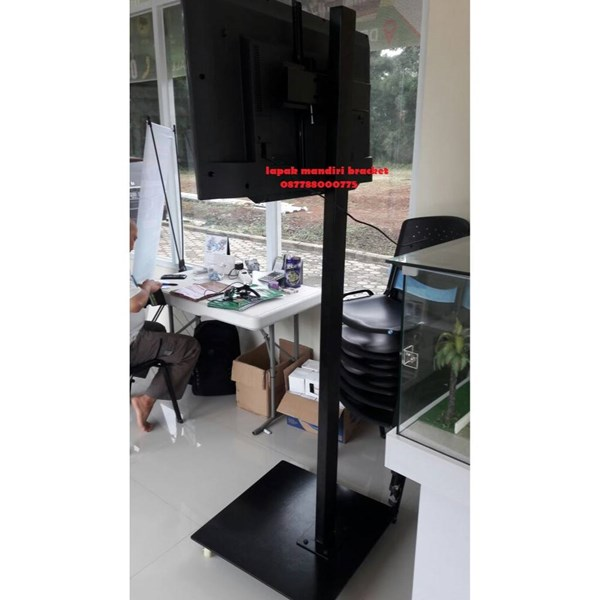 Jual Bracket Braket Breket Tv Led Lcd Berdiri Standing Lantai Floor