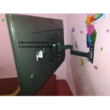bracket tv swivel  merk kenzo-kz25 murah