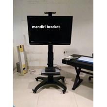 Braket TV stand model NB AVf1500-50-1p  Tiang bisa