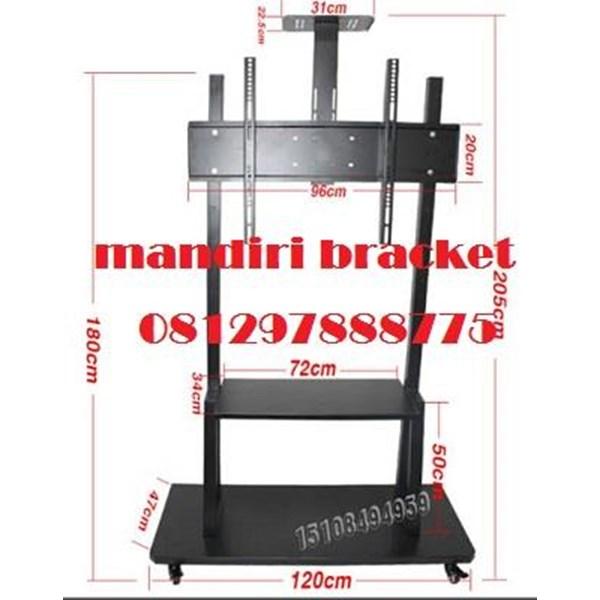 Braket tv standing type HWL import vidio comfrens