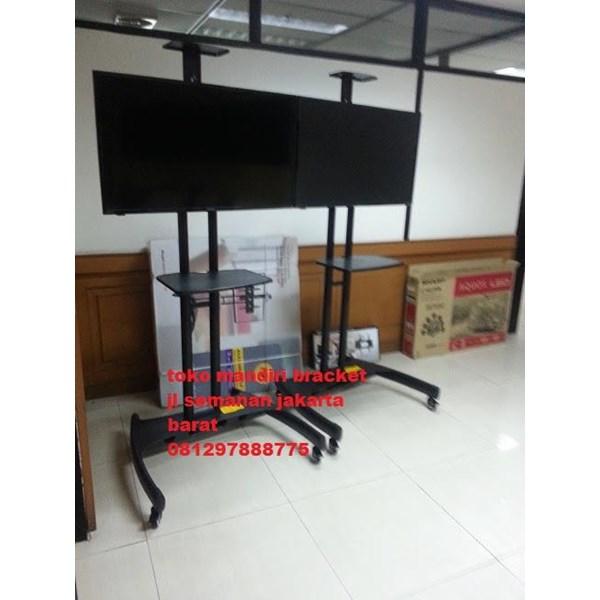 Bracket TV Stand Berdiri buat tv 32-65 inch north bayou mandiri bracket