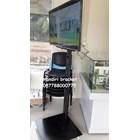 promo bracket tv standing 1 tiang plat kotak beli dua free kabel data hp to tv 3