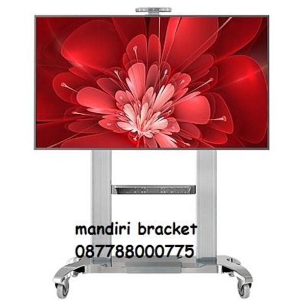 Bracket TV standing north bayou type NB-cf 100 silver