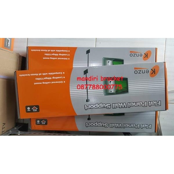 Bracket TV Ceiling KENZO KZ-63 CEILING bracket bisa di ganti ganti ukuran bracket