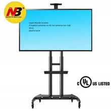Tiang Bracket TV LED North Bayou - AVA1800-70-1P