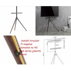 bracket tv stand tripod looktech 65f  2