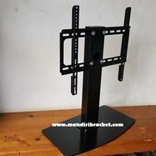 Bracket TV led lcd Stand meja custom mandiri brack