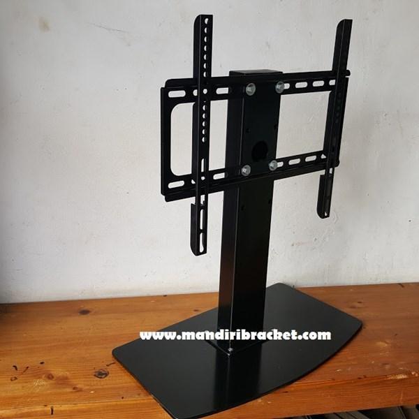 Bracket TV led lcd Stand meja custom mandiri bracket