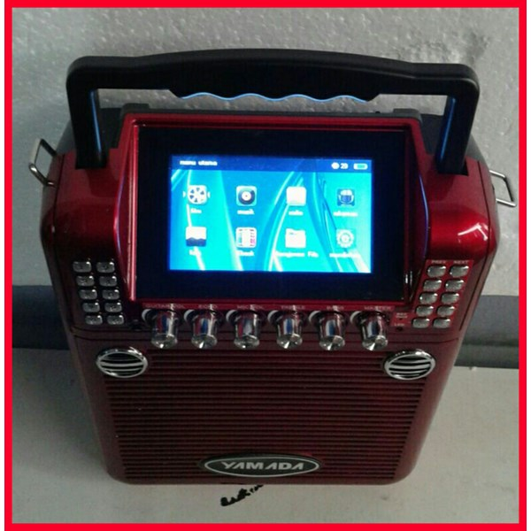 Yamada Speaker Portabel Video DM Q69V