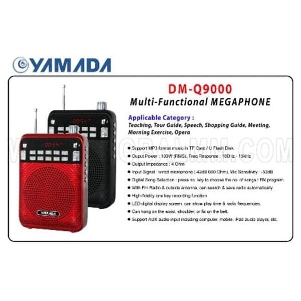 Yamada Megaphone Wired Microphone / Speaker Pinggang DM-Q9000