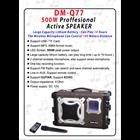 Speaker Aktif multifungsi YAMADA DM-Q77 Portable megaphone 3