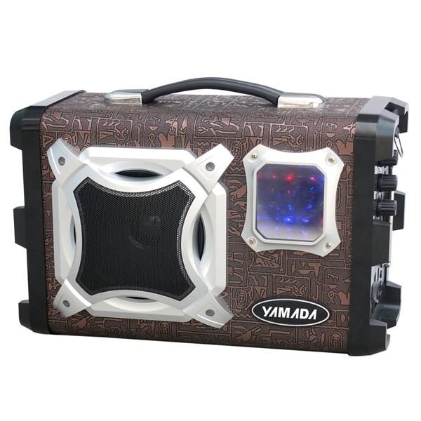 Speaker Aktif multifungsi YAMADA DM-Q77 Portable megaphone