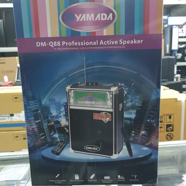 Speaker Ngamen Aktif Yamada DMQ88 murah