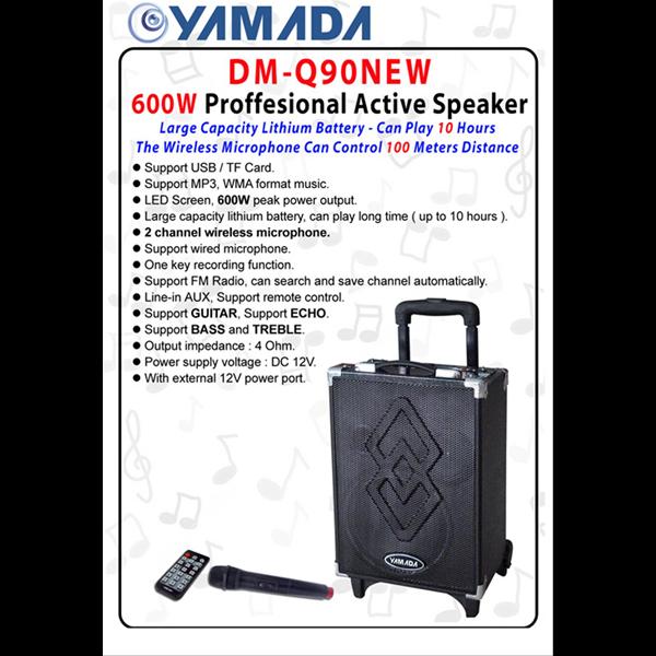 YAMADA PORTABLE SPEAKER DM Q90 NEW