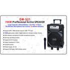 Yamada DM-S21 Speaker portable  Bluetooth Professional Active Karaoke Original 2