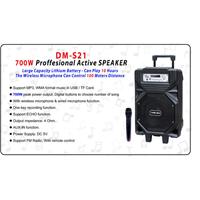 Jual Yamada DM-S21 Speaker portable  Bluetooth Professional Active Karaoke Original 2
