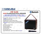 Speaker Portable YAMADA DM-GL88 Speaker Wireless Microphone Music Bass MP3 2