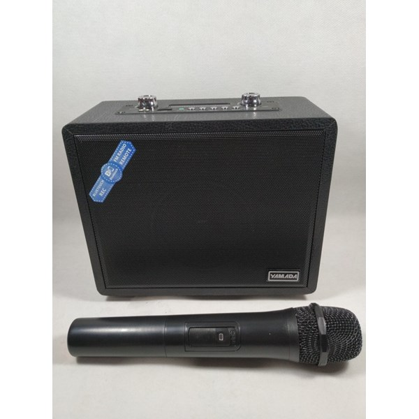 Speaker Portable YAMADA DM-GL88 Speaker Wireless Microphone Music Bass MP3