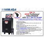 Speaker portable Yamada DM-T2 Video Karaoke 10 inci HD TV Screen AUX MP3 MP4 Gratis Wireless Mic 2