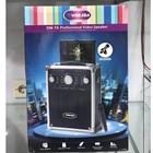 Speaker portable yamada DM T6 meeting wireless led portable 5