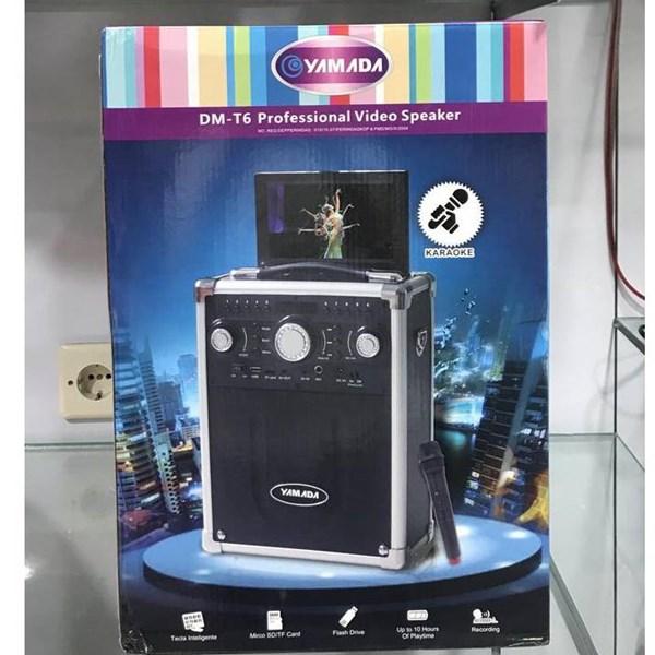 Speaker portable yamada DM T6 meeting wireless led portable