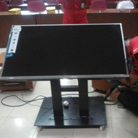 Bracket tv stand meeting room untuk tv 40inch-70inch