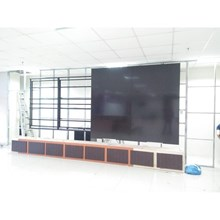 Custom 3x4 TV video wall bracket