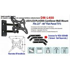 DIGIMEDIA DM-L400 BRACKET TV LCD LED Plasma TV 23 - 46 7