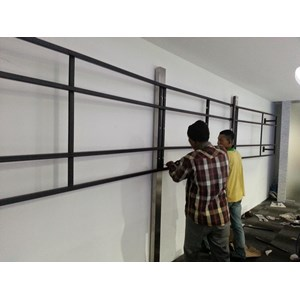 Jasa Pembuatan Bracket Video wall By Mandiri Bracket