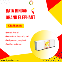 Bata Ringan Grand Elephant Kirim Surabaya Sidoarjo