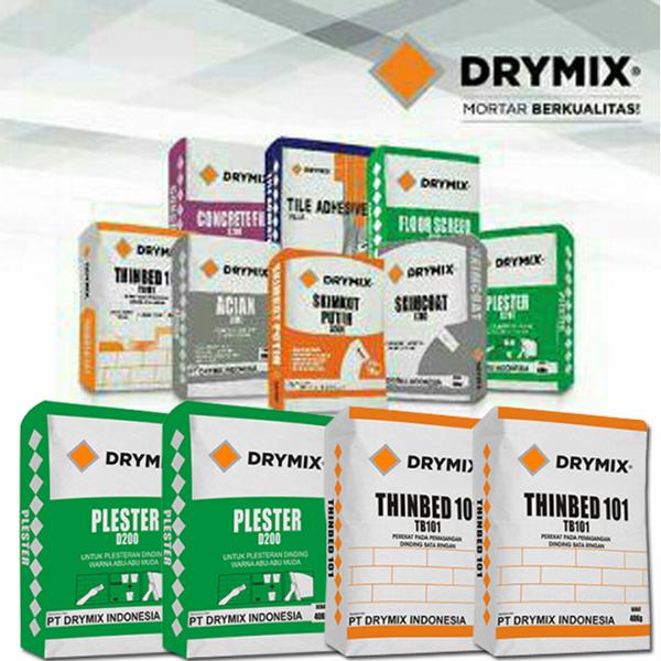 Semen dan Beton Drymix