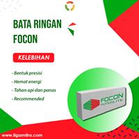 Bata Hebel / Bata Ringan Focon Kirim Surabaya Sidoarjo Gresik