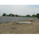 Concrete Fence Panels Installed 2