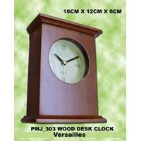Jual Souvenir Jam Meja Pmj_303 Versailles Wood