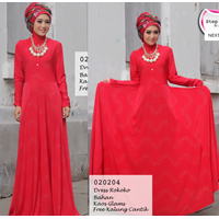 Gamis STEP UP By Arlen - ST-824 Dress ROKOKK 1